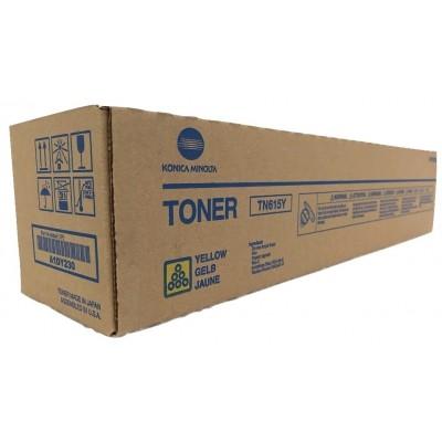 Toner Yellow Original Bizhub C8000